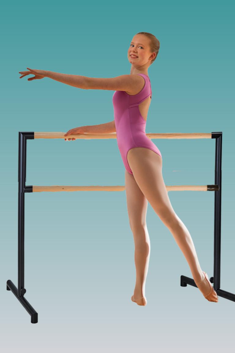 dancer at barre